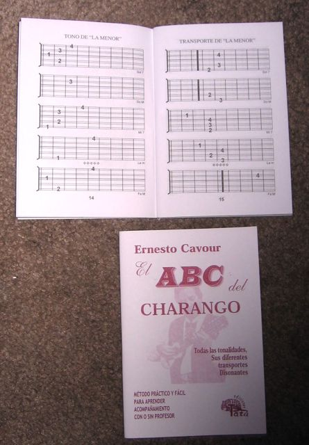 Charango Chord Booklet by Ernest Cavour