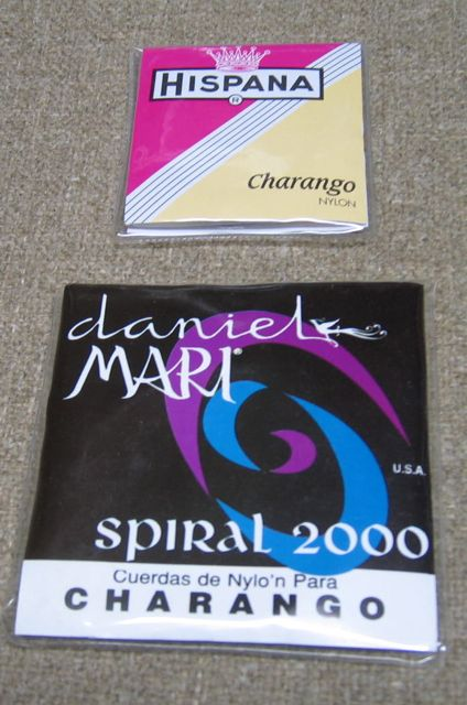 Packages of Charango Strings
