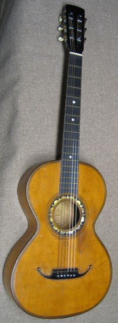 Italian Corona Guitar made in 1880