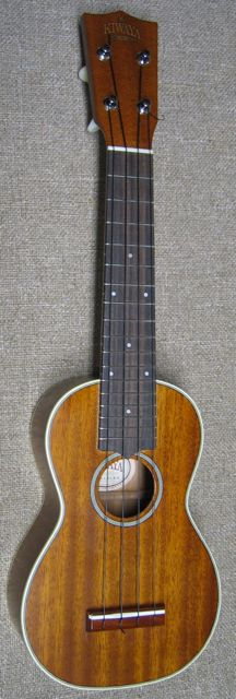 Photo of Kiwaya KTS-6 Solid Mahogany Ukulele
