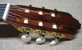 Photo of Tuners and Head of R.Fernandez 40 Guitar
