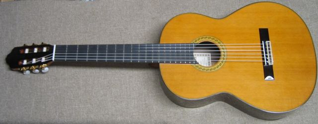 Front Photo of R.Fernandez 70 Clasical Guitar
